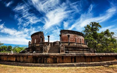 Polonnaruwa, archaeological site on 122 hectares !